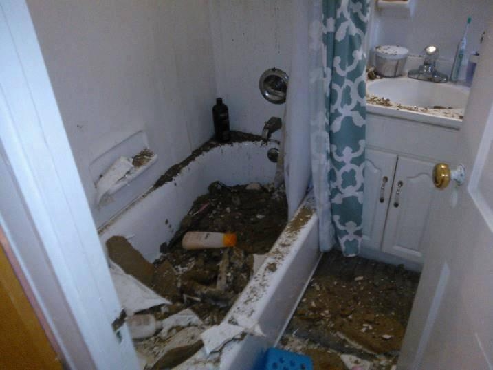 Des logements étudiants cauchemardesques affichés en photos sur Facebook