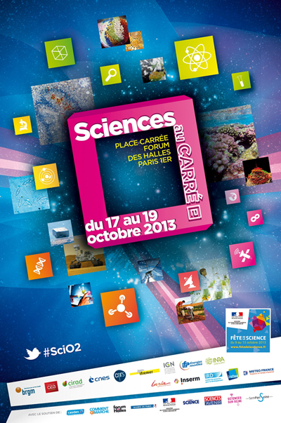 Fête de la Science 2013 : « Sciences au Carré(e) » à Paris