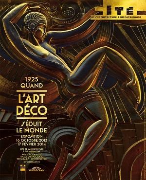 Expo : «1925, quand l'Art Déco séduit le monde»