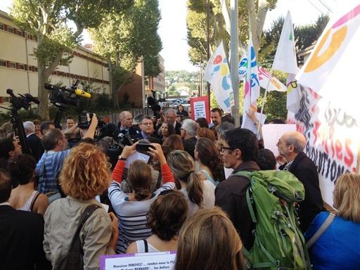 Grève à l'ÉSPÉ de Toulouse: «Donnez-nous les moyens d'appliquer la loi!»