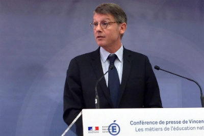 Vincent Peillon, ex-ministre de l'Education, est candidat à la primaire de gauche