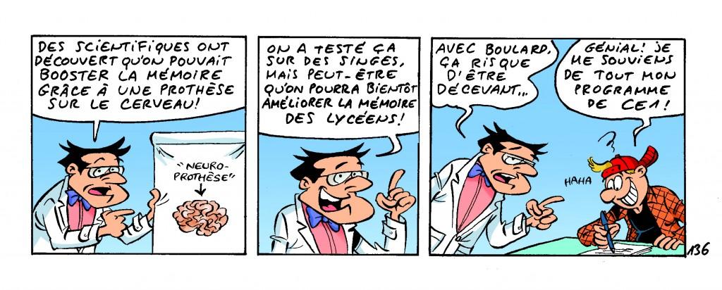 Boulard : de mémoire de Prof, on n'a jamais vu pire cancre !
