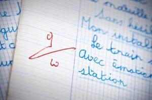 Dictée © Olivier Le Moal — Fotolia.com
