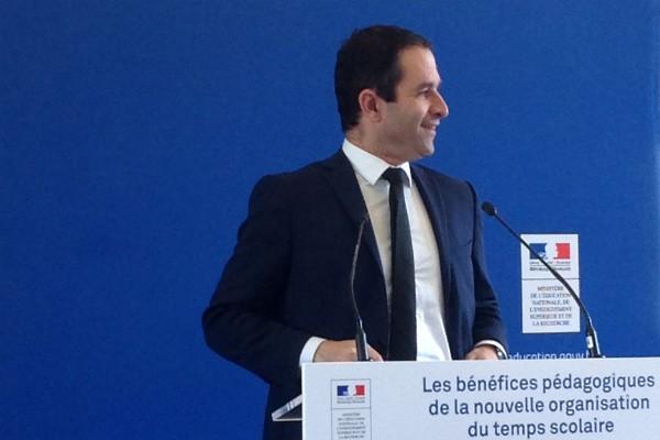 Benoît Hamon : «La réforme des rythmes scolaires n'est pas une lubie»