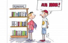 Dessin Jack Koch vacances profs livre pédagogie