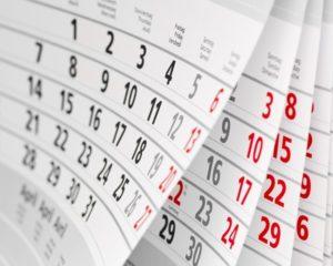 Le calendrier des vacances scolaires