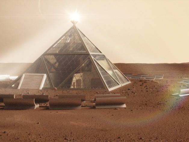 Colonisation de Mars : trois modèles de bases martiennes récompensés