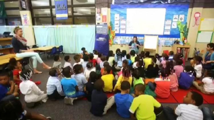 Etats-Unis : une classe de maternelle de 100 élèves à Detroit