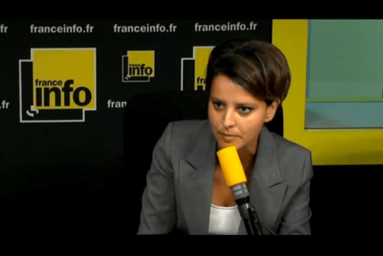 Najat Vallaud-Belkacem : la priorité à la jeunesse est «totalement en cours»