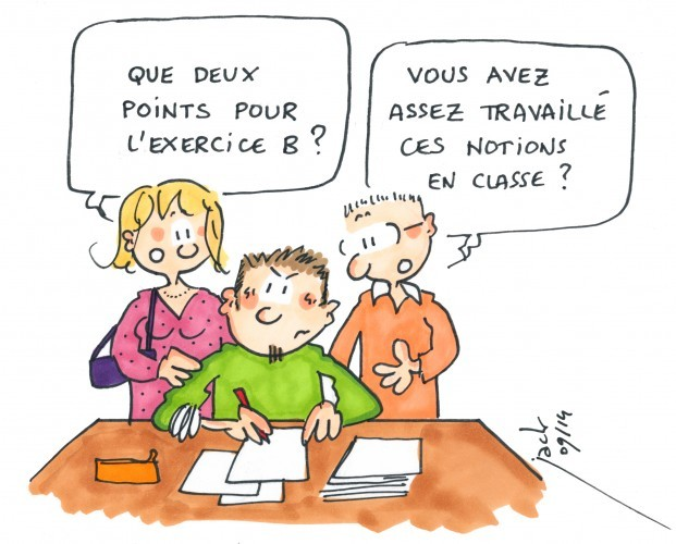 Rencontre entre parents et enseignants