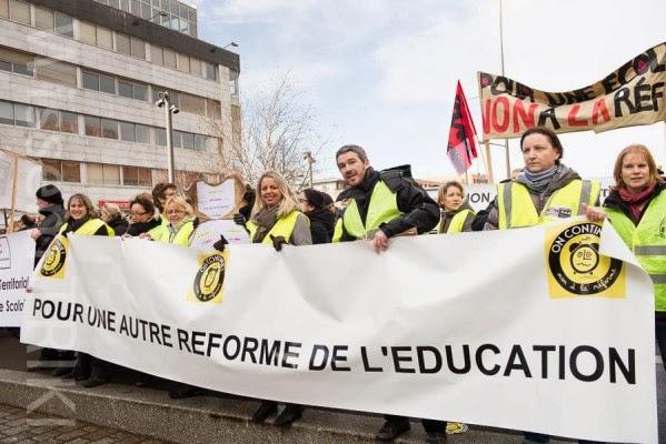 Rythmes scolaires : les Gilets jaunes ne veulent pas être associés aux attaques contre Najat Vallaud-Belkacem