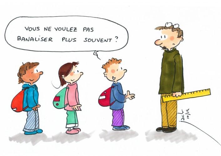 Demi-journée d'école banalisée : le malheur des parents fait le bonheur des enfants !