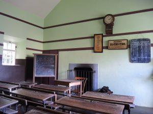 salle de classe ancienne