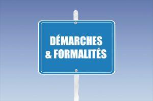 démarches et formalités