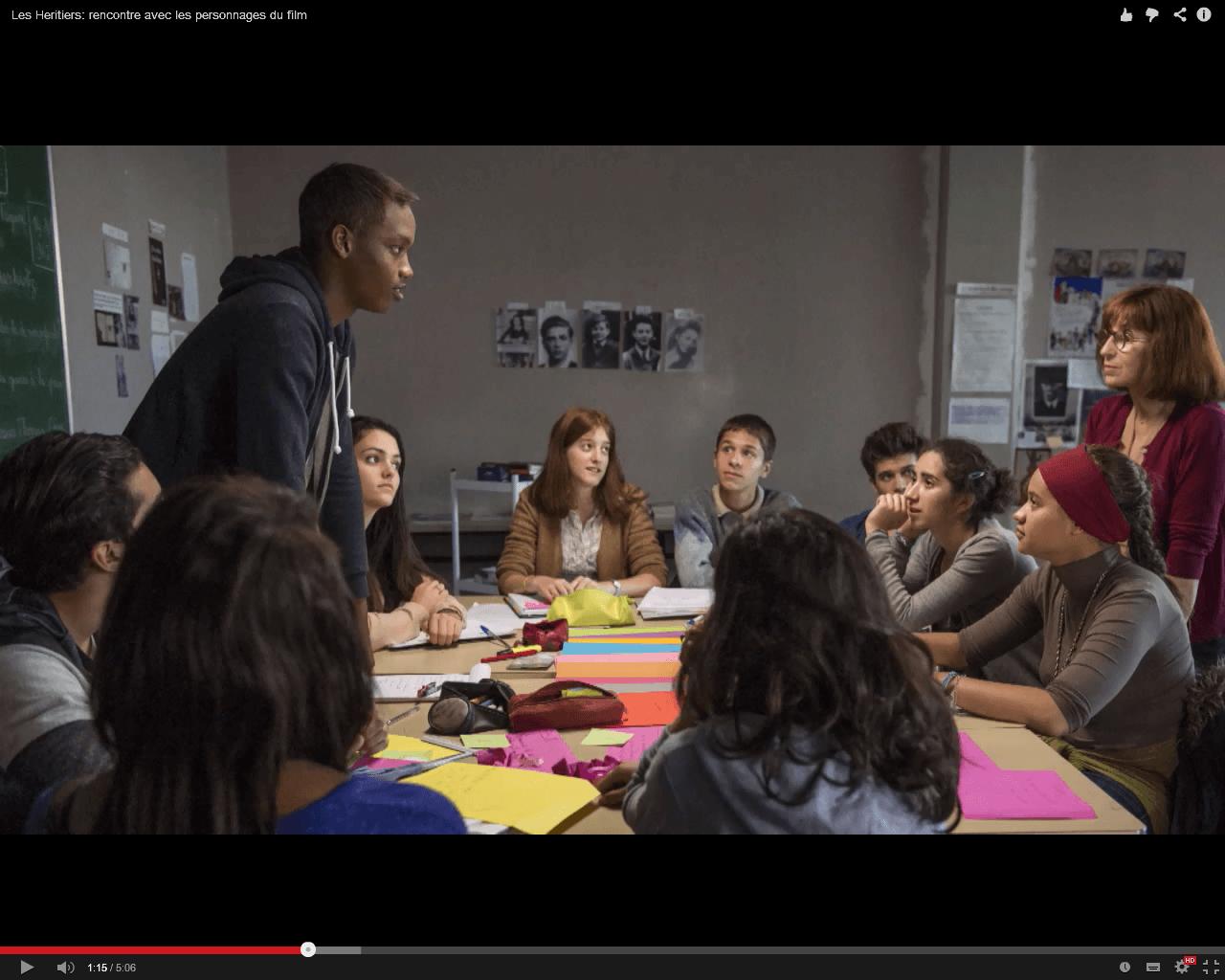 Les Héritiers : rencontre avec les personnages du film