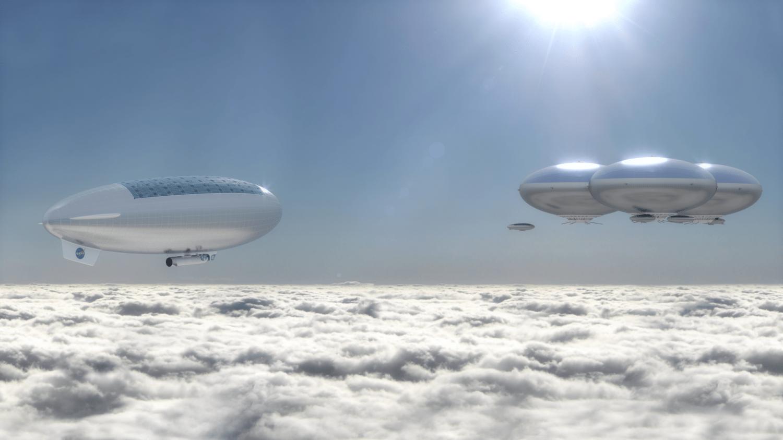 La Nasa veut bâtir des villes flottantes dans le ciel de Vénus