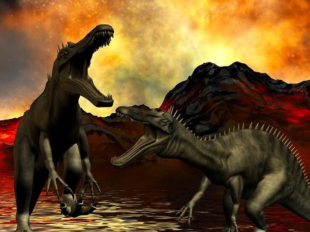 Les Volcans Responsables De L Extinction Des Dinosaures