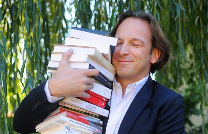 François Busnel : «plus vous lirez, mieux vous serez armé pour affronter la vie»