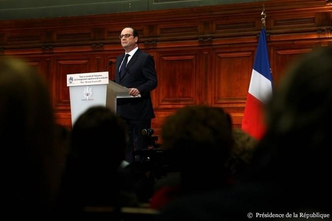 François Hollande lance l'Acte II de la Refondation de l'Ecole