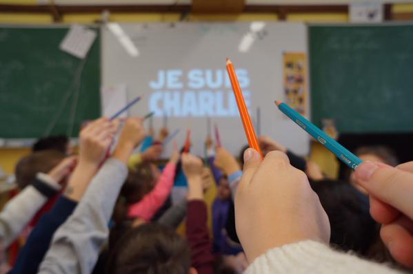 Charlie Hebdo : la réponse des écoliers par le dessin