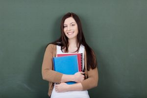 enseignante stagiaire