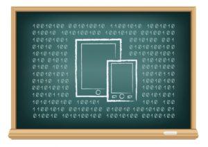 tablette à l'école