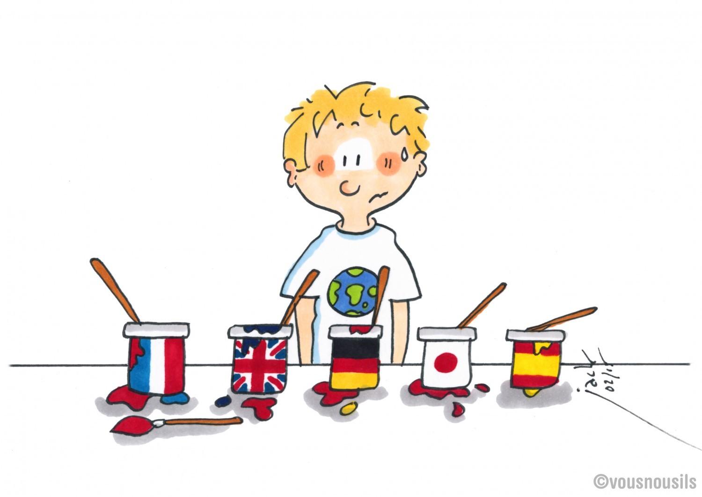 Enfants bilingues : attention à ne pas vous emmêler les pinceaux !