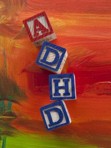Attention Deficit Hyperactivity Disorder (ADHD) alphabet blocks © Lori Werhane - Fotolia