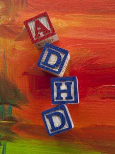 Attention Deficit Hyperactivity Disorder (ADHD) alphabet blocks © Lori Werhane - Fotolia
