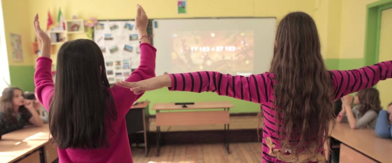 Mathématiques : apprendre la géométrie avec une Kinect