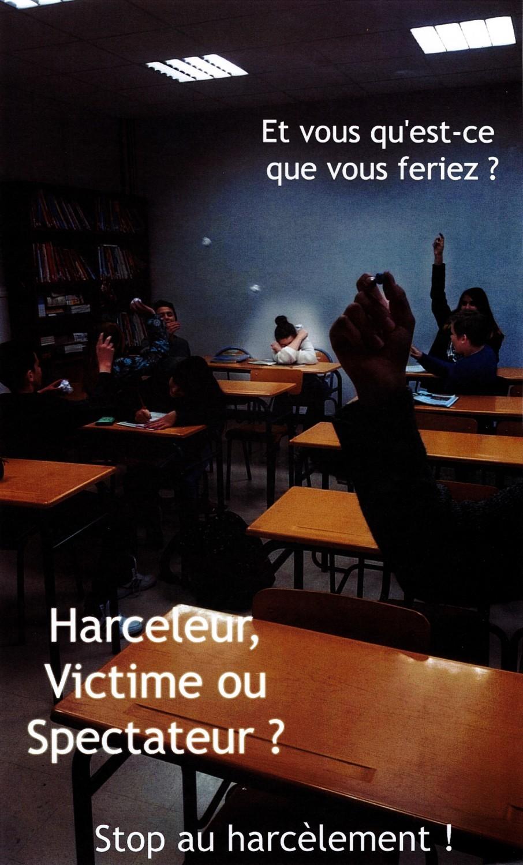 Le concours «Mobilisons-nous contre le harcèlement» bientôt décerné