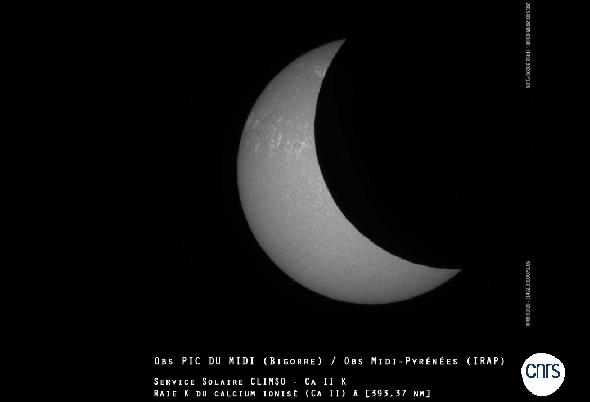 Eclipse solaire du 20 mars : l'événement visible en direct sur Internet