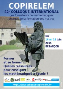 Affiche Colloque Copirelem