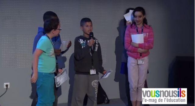 Congrès scientifique des enfants 2015 : le projet qui fait aimer les sciences dès le primaire !