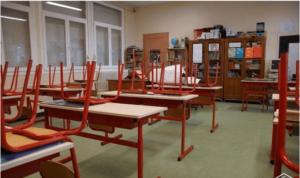 Salle de classe- Capture d'écran