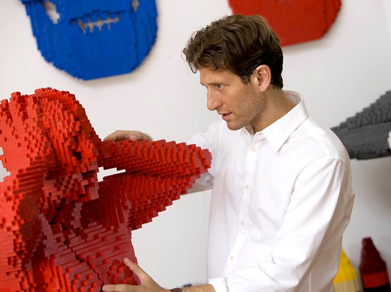 Nathan Sawaya : l'art époustouflant du Lego