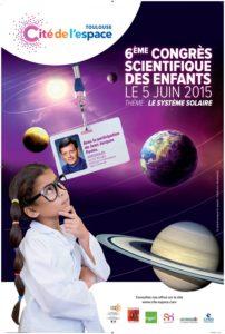 Affiche du Congrès scientifique des enfants