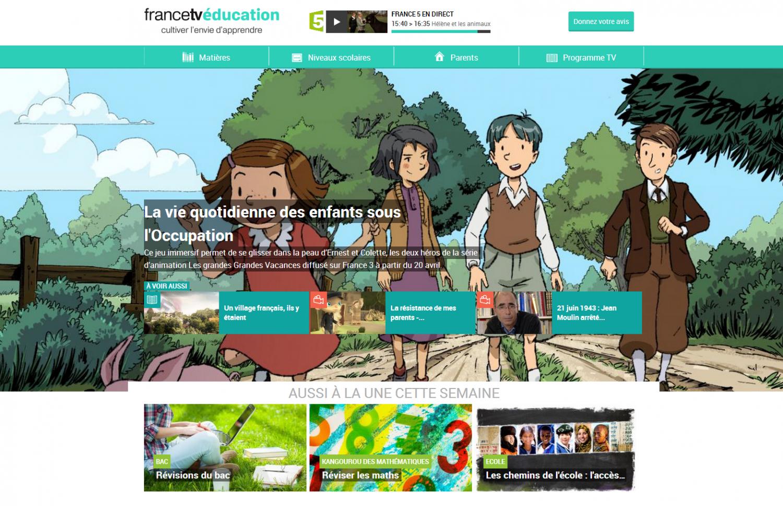 FranceTv Education, une offre pour les familles, les élèves et le corps enseignant