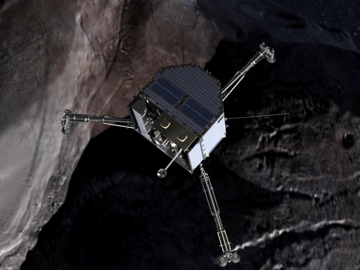 Réveillé, Philae devrait bientôt forer le sol de la comète «Tchouri»
