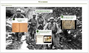 Le cours sur la Première Guerre mondiale d'Olivier Quinet : une capsule à visionner à la maison, avec un quizz et des documents.