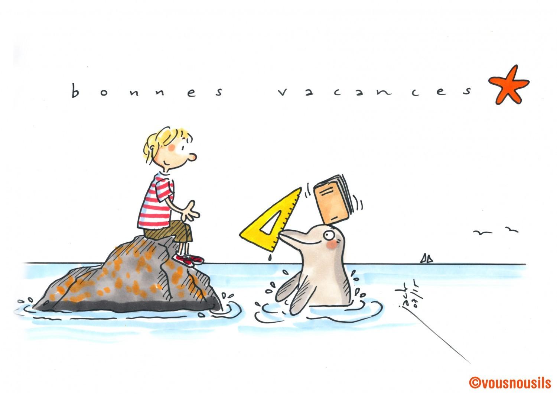 L'équipe Vousnousils vous souhaite de bonnes vacances d'été !