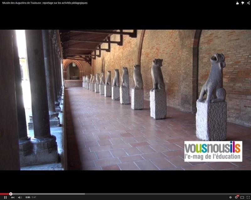 Musée des Augustins de Toulouse : reportage sur les activités pédagogiques