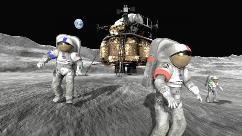 Moonbase Alpha / NASA