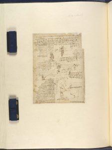 Léonard de Vinci Etudes concernant le vol mécanique c. 1485 Plume, encre et traces de sanguine Veneranda Biblioteca Ambrosiana, Milan