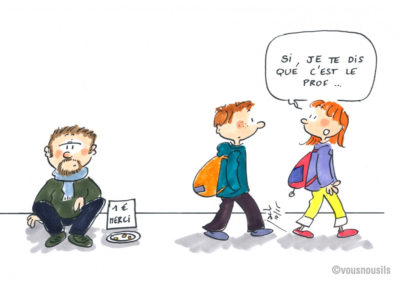 Enseignants : un vrai salaire de misère !