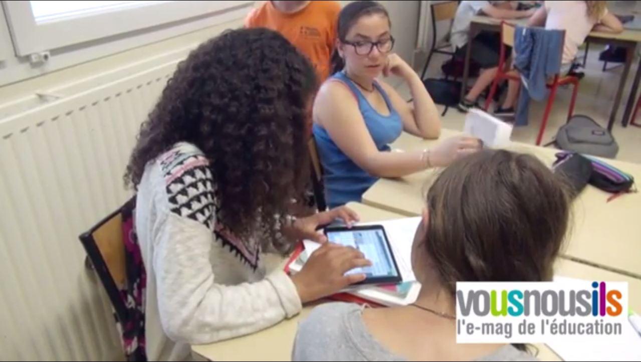 Créer des applis numériques en anglais : une pratique inspirée des Fab Labs (reportage vidéo)
