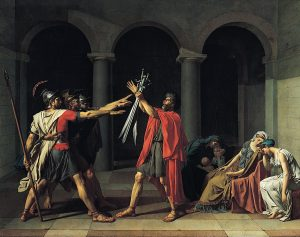 Jacques-Louis David, Le Serment des Horaces / Wikimedia Commons