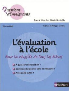 """""""L'évaluation à l'école"""" éditions Nathan - 7,50€"""