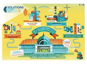 L'affiche de l'exposition Solutions COP 21