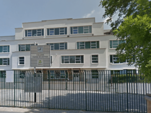 Collège Pierre De Geyter, Saint-Denis / Capture de Google Maps Streetview